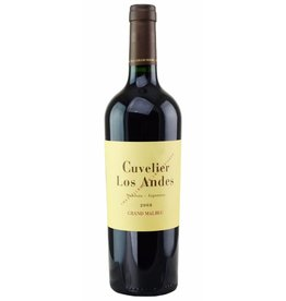 "South American Wine Cuvelier Los Andes ""Grand Malbec"" Valle de Uco Mendoza 2013 750ml"