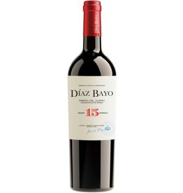 Spanish Wine Diaz Bayo Ribera del Duero Crianza 2015 750ml