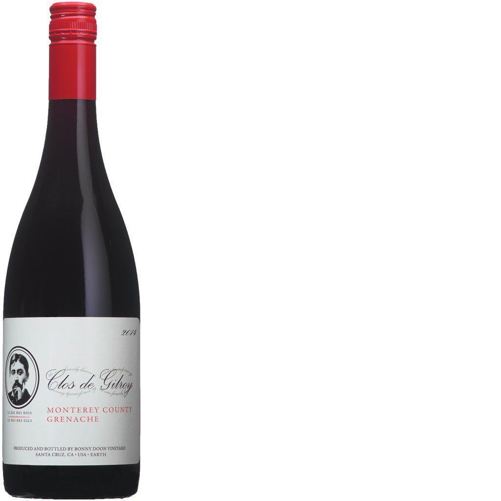 American Wine Bonny Doon Clos de Gilroy Grenache Monterey County 2017 750ml