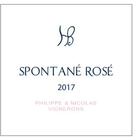 Sparkling Wine Philippe & Nicolas Spontané Rosé 2017 750ml