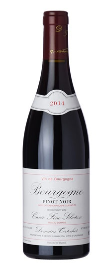 "French Wine Domaine Tortochot ""Cuvée Fine Sélection"" Bourgogne Rouge 2014 750ml"