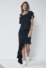 Lanston Lanston High Low Skirt