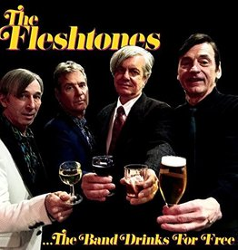 The Fleshtones - The Band Drinks For Free LP