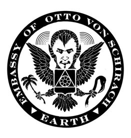 "Otto Von Schirach ""Embassy Seal"" Sticker"