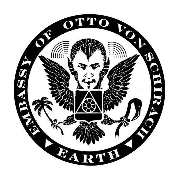 """Otto Von Schirach """"Embassy Seal"""" Sticker"""