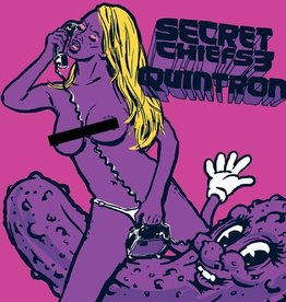 Secret Chiefs 3/Quintron – Purple Pickle Eater 7""