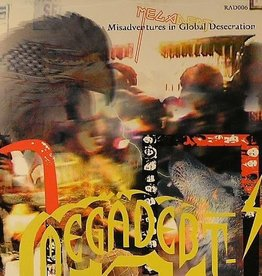 Megadebt - Misadventures In Global Desecration CD