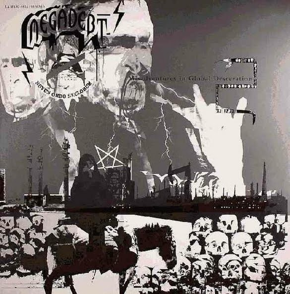 Megadebt - Misadventures In Global Desecration 12""
