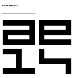 Autechre - NTS Sessions (INDIE ONLY) LP Box Pre-Order