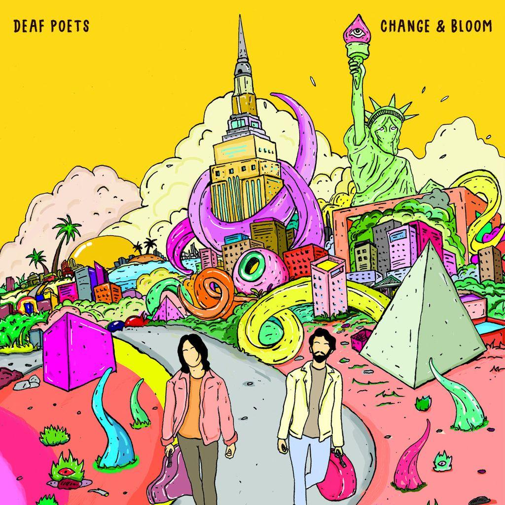 Deaf Poets - Change & Bloom LP
