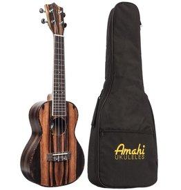 Amahi UK990C Ebony Concert Uke