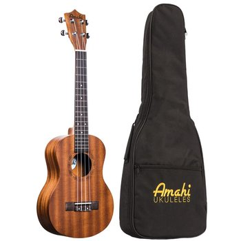 Amahi Amahi UK210T Tenor Mahogany Uke  with Deluxe Bag