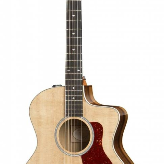 Taylor 214CEK DLX Koa back and sides with hard case