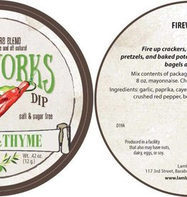 Lambs & Thyme Herb Dips Fireworks