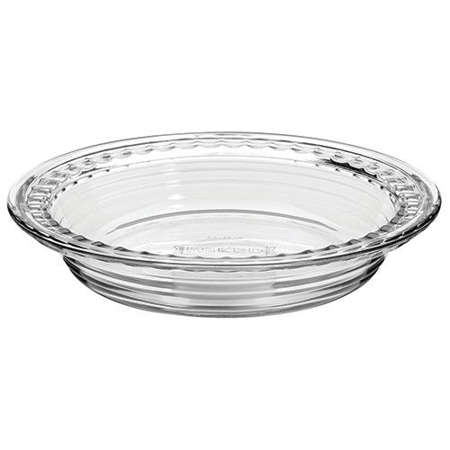 Fox Run Fire King Pie Plate Glass
