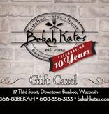 Bekah Kate's Gift Card $75
