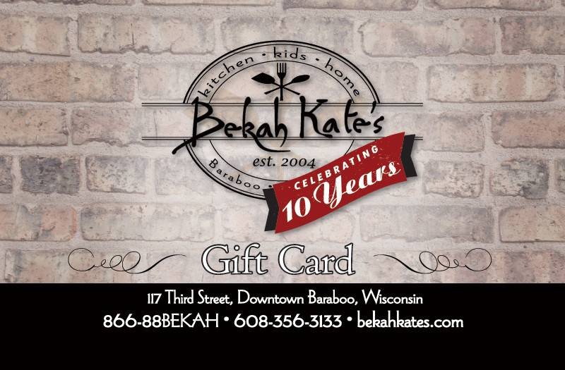 Bekah Kate's Gift Card $75
