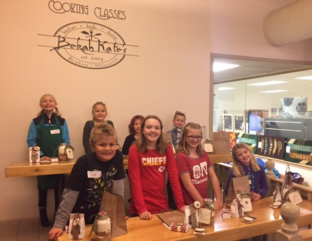 Kids Festive Food Gifts Cooking Class - 12/10/17