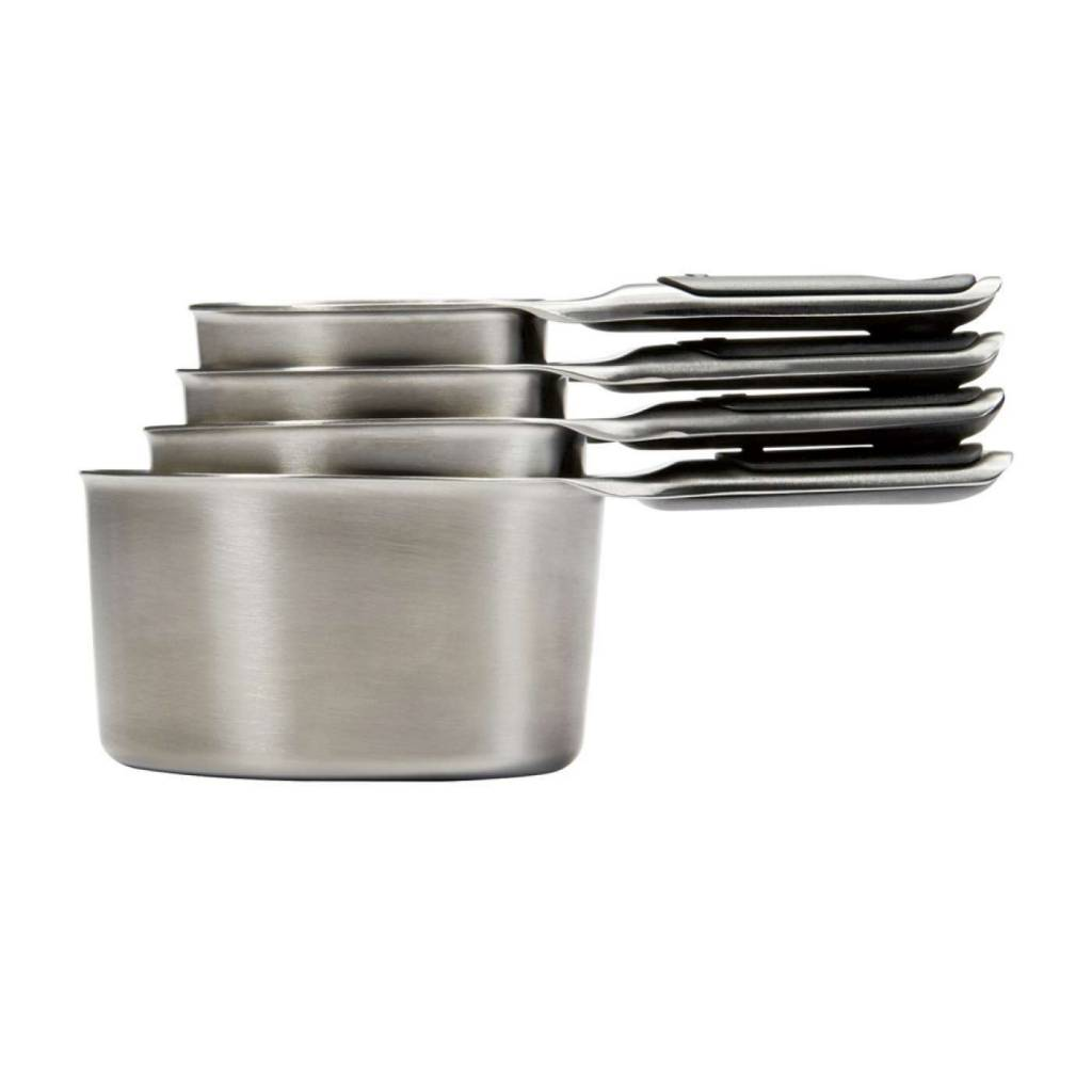 Oxo Measure Cup Set Stainless Steel