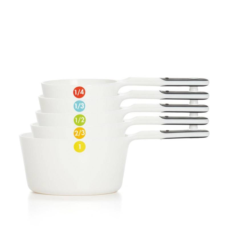 Oxo Soft Handle Measuring Cup Set White