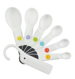 Oxo Soft Handle Measuring Spoon Set White