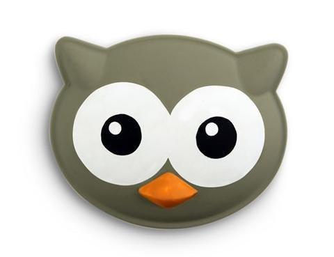 Kikkerland Talkin Bag Clip Owl CLR