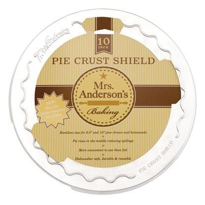 Harold Pie Shield Mrs. Anderson 10 inch
