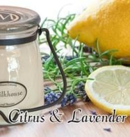 Milkhouse Candles Butter Jar 16 oz