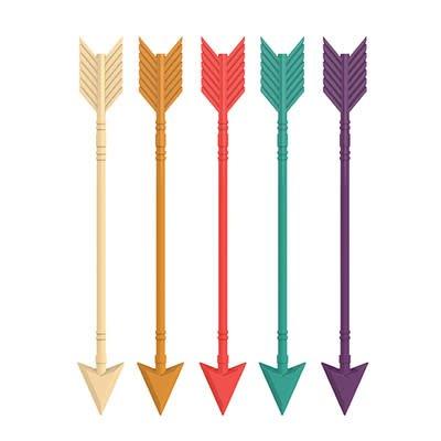 True Arrow Stir Sticks (Set of 5) by True Zoo