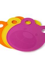Architec Kids Cutting Boards Plates-Pink
