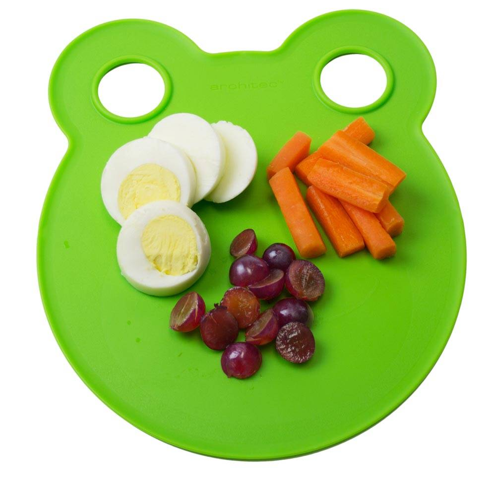 Architec Kids Cutting Board Plates-Green
