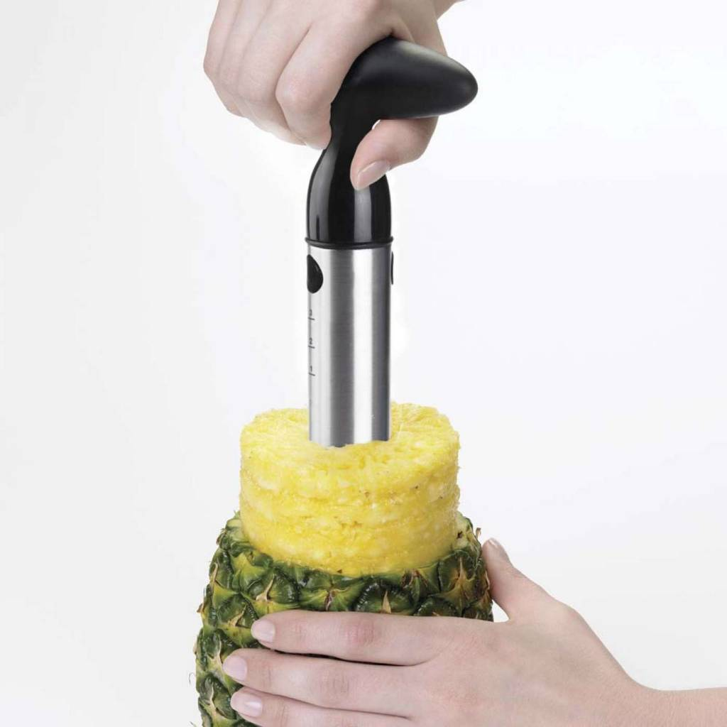 OXO GG Stainless Steel Ratcheting Pineapple Slicer