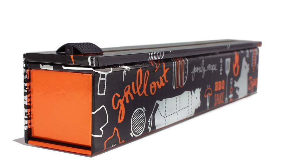 ChicWrap Foil BBQ Grill Dispenser