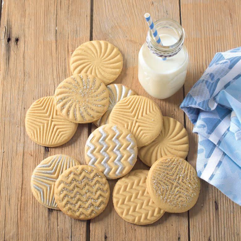 Nordic Ware Cookie Stamp Geo
