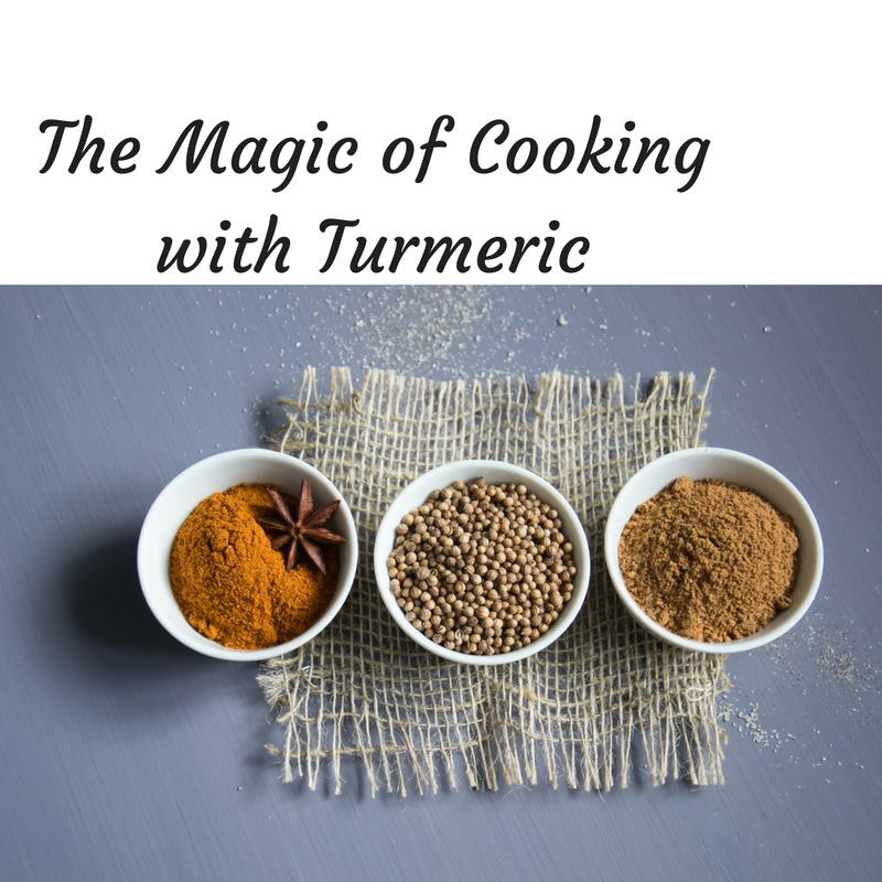 The Magic of Cooking with Turmeric at Bekah Kate's