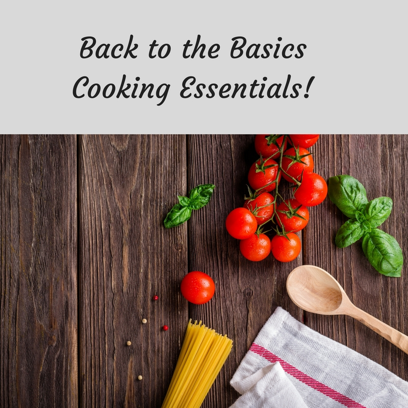 Back to the Basics Cooking Class at Bekah Kate's