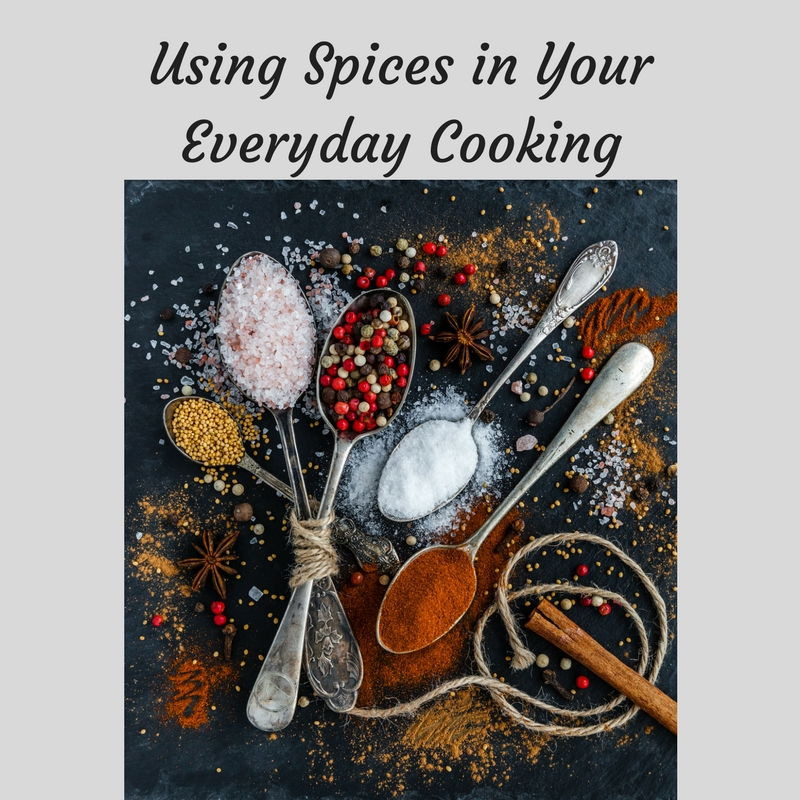 Using Spices in your Everyday Cooking Class at Bekah Kate's