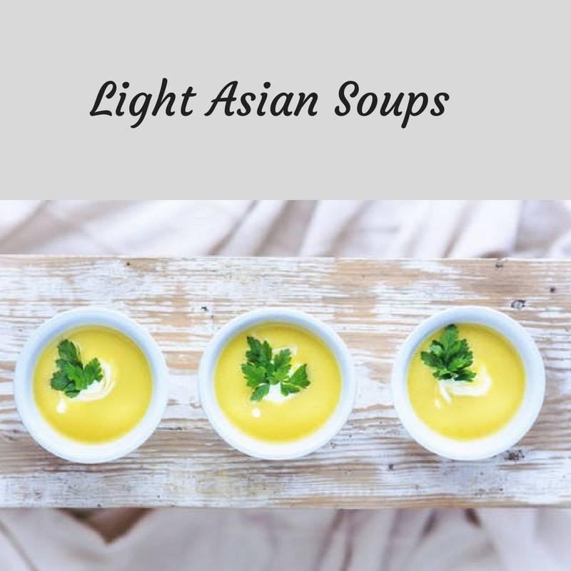 Light Asian Soups Cooking Class - 8/28/18