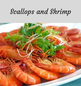 Scallops and Shrimp Cooking Class - 9/18/18