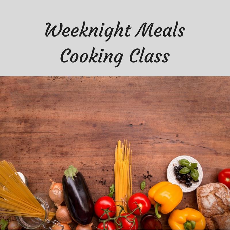 Weeknight Meals at Bekah Kate's