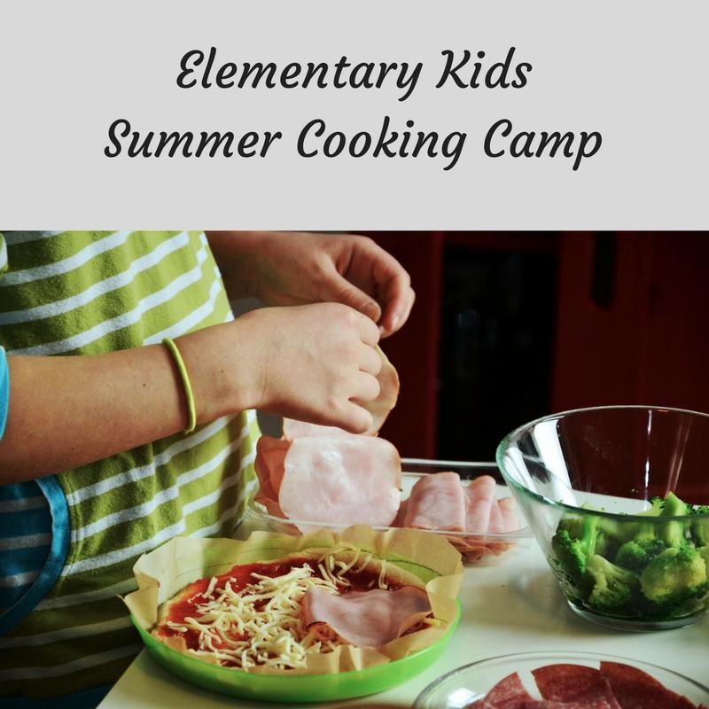 Elementary Kids Cooking Class