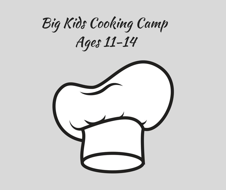 Big Kids Cooking Camp