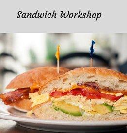 Sandwich Workshop Cooking Class 4/11/19