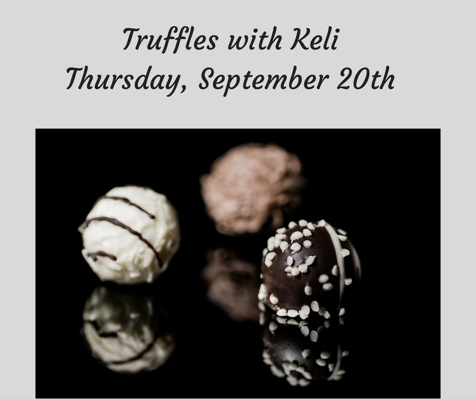 Truffles with Keli