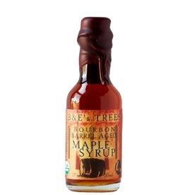 B&E's Trees Bourbon Barrel Aged Maple Syrup 1.7oz