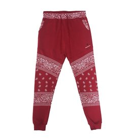 Red Bandana Joggers