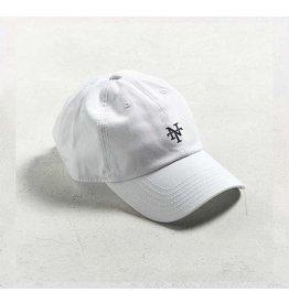 NT WHITE DAD HAT