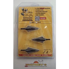 Magnus Outdoor Products Magnus Stinger Killer Bee BuzzCut Crossbow 100Gr Broadheads/Broadhead KBSBC100-4