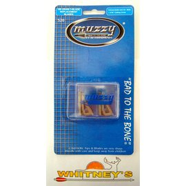 Muzzy Products Muzzy- Replacement Blades for #225-100 Grain-320