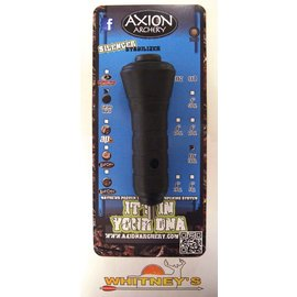 "Axion Archery Axion Archery Silencer 5"" Fit 7.6Oz. Stabilizer Black AAA-1000B"